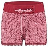 ESPRIT Maternity Damen Shorts Jersey UTB AOP Umstandsshorts, Rosa (Blush 665), 38 (Herstellergröße: M)