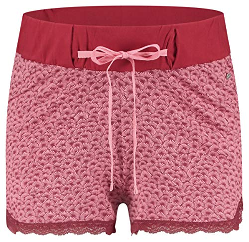 ESPRIT Maternity Damen Shorts Jersey UTB AOP Umstandsshorts, Rosa (Blush 665), 42 (Herstellergröße: XL)
