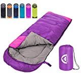 SWTMERRY Sleeping Bag 3 Season (Summer, Spring, Fall) Warm & Cool Weather