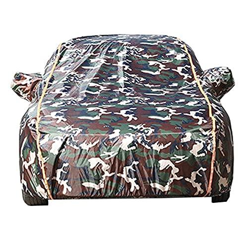 Funda de Coche Exterior Oxford Cubiertas de automóviles completas compatibles con MINI / F54 F55 F56 F57 F60 | Cubierta de sedán al aire libre a prueba de sol a prueba de sol con tiras reflectantes