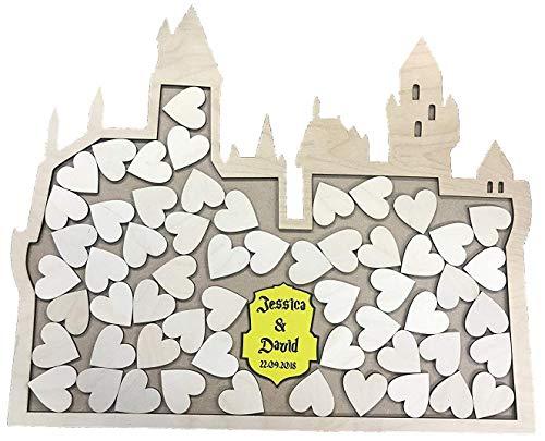 FSSS Ltd Harry Potter Inspired Hogwarts Castle - Caja de Boda Alternativa...
