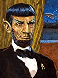 3D Hologramm-Poster - Spock/Lincoln Dividing The Union is