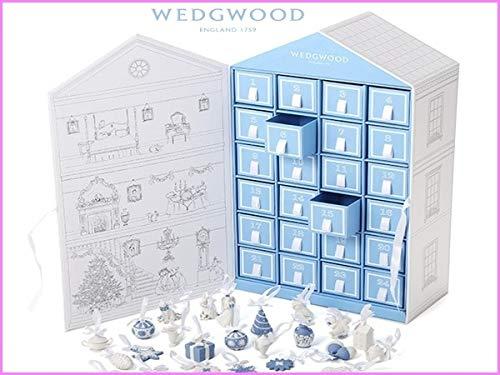ウェッジウッド クリスマス ホリデイ アドベントカレンダー 2019 WEDGWOOD ミニ オーナメント 24個 ジョージアンスタイルの邸宅BOX