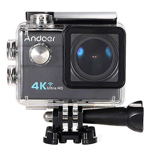 Action Cam 4k Andoer Action Camera ,Videocamera WIFI Ultra HD...