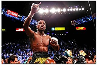 Tomorrow sunny Floyd Mayweather Champion Boxer Boxing Art Silk Poster 24x36 inch 002