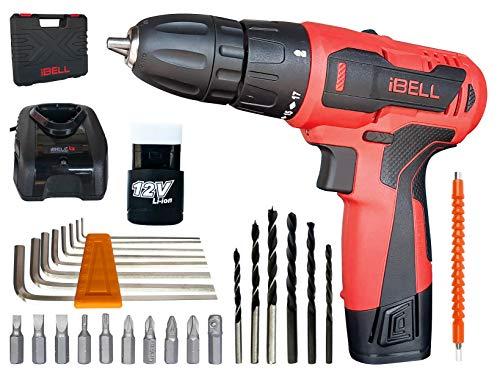 iBELL CD12-74 12-Volts Cordless Drill Driver