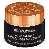 BIOAYURVEDA Acne Balance Moisturiser Face Cream for Acne & Scars Removal & Acne