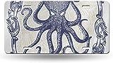 Dom576son Plaque d'immatriculation en Aluminium avec Inscription en Anglais « A pitopus 50 State » Personnalisé sur Mesure pour Voiture, vélo, Moto, cyclomoteur, Plaque d'immatriculation