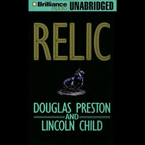 Relic audiobook cover art