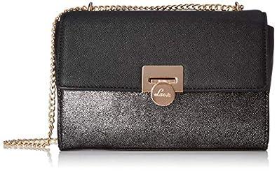 Naziha Shimmer Buckle Sling Bag