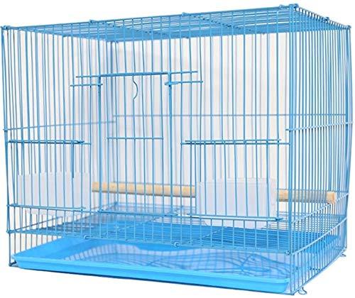 Gabbia per uccelli durevole e rispettosa dell'ambi Gabbia di volo per parrocchetti Gabbia per uccelli per parrocchetti, gabbie pappagalli per grandi uccelli, gabbia per uccelli per animali domestici a