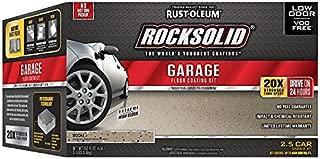 Rust-Oleum 293517 Rocksolid Garage Floor Coating Kit, Mocha