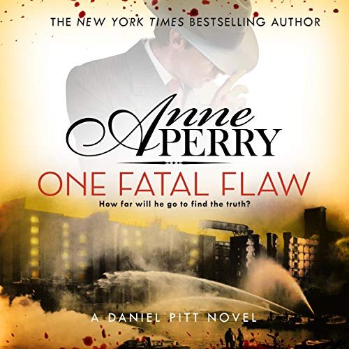 One Fatal Flaw audiobook cover art