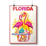 INNOGLEN Orlando Flamingo Birds Florida United States Wall