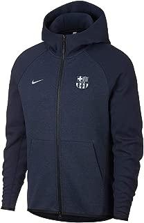 Barcelona Authentic Tech Fleece Hoodie 2018/2019 - Navy - XL