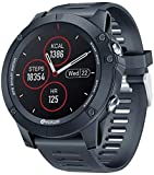 Zeblaze Vibe 3 GPS Smart Watch,Smartwatch with 1.3 Inch IPS Color Screen,280mAh Battery, Sport Watch with GPS ,Heart Rate Monitoring,Health Monitoring,Activity Tracker for iOS Android Phone(Black)