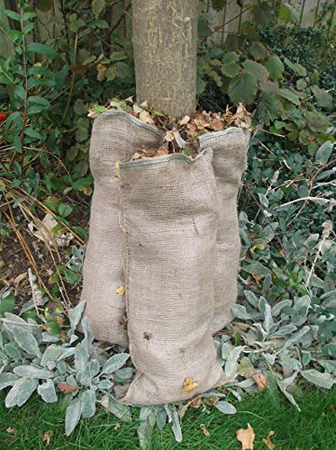 Nutley's Lot de 10 Sacs à Pommes de Terre en Toile de Jute résistante 50 x 80 cm