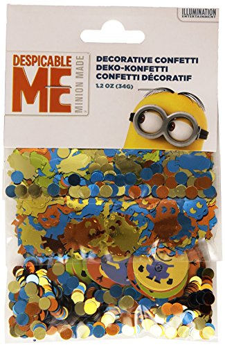 Confettis Minions 34 GR - Taille Unique