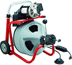 Drain Cleaning Machine, 165 rpm, 75 ft.