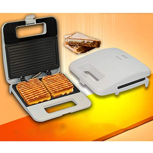 Sandwich Toaster, Tief Fill 2 Scheibe Toastie Maker mit Easy Clean, Non-Stick Plates & Cool Touch Griffe - 750W