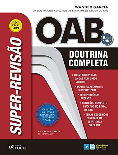Super-revisão OAB - Doutrina completa - 9ª edição – 2019