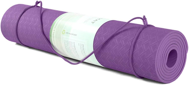 TPE Yoga Mat Body Position Yoga Mat Non-Slip Environmental Fitness Yoga Mat