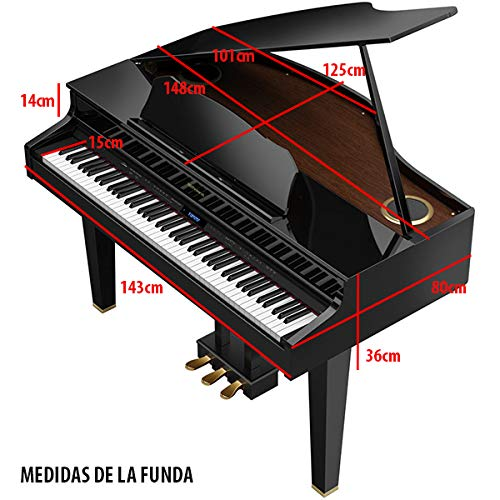 FUNDA PIANO DIGITAL COLA ROLAND GP - 607