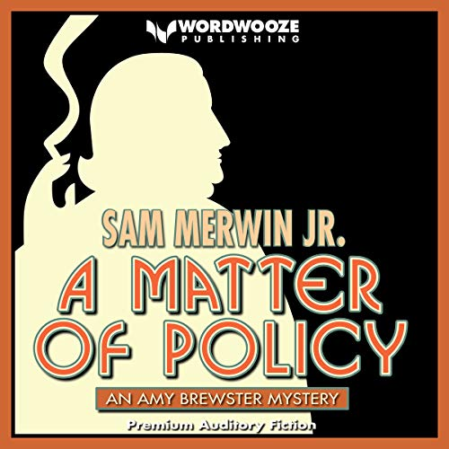 A Matter of Policy audiobook cover art