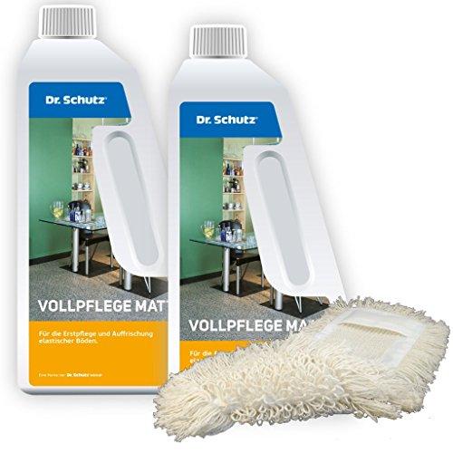 Dr. Schutz 2X Vollpflege Matt (750 ml) inkl. Wischmopp
