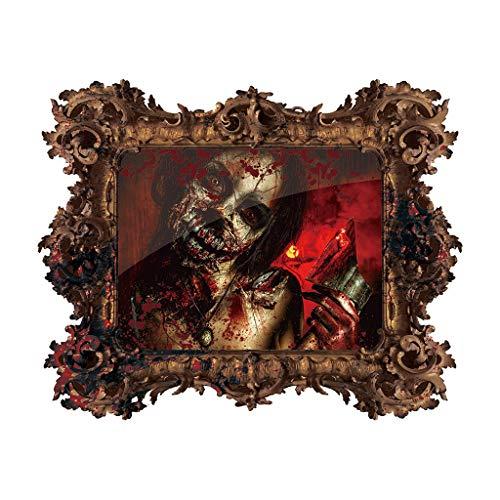 Berryhot Suministros para Fiesta de Halloween, decoración de Pared para Ventana de Halloween