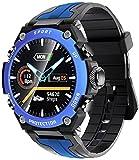 PKLG Reloj inteligente de música para hombre IP68 impermeable de...