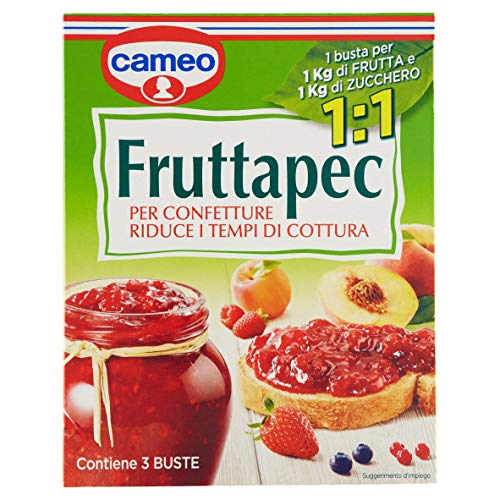 Cameo - Fruttapec, Per Preparare Le Confetture, 3 Buste