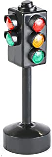 Anniston Kids Toys, Mini Traffic Signs Road Light Block with Sound LED Children Safety Education Toy Remote Control Toys P...