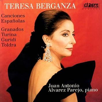 Canciones Españolas: Granados, Turina, Guridi & Toldrá
