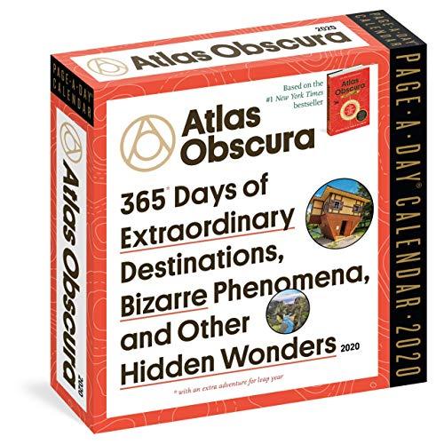 Atlas Obscura Page-A-Day Calendar 2020