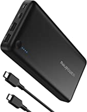USB C Power Bank RAVPower 26800mAh PD Portable Charger (Fast Recharged In 4.5 Hours &USB-C Input, 30W Type-C Output) for Iphone 11/ Pro, Nintendo Switch, USB Type-C Laptops, 2016 MacBook