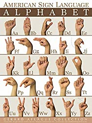 Alphabet Sign Language Poster