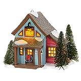 Department 56 Original Snow Village Farms Tree Lot Lit Building, 6.3 Inch, Multicolor