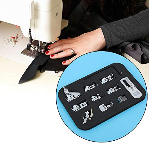 Naaivoet, geweven naaivoet, 1 stuks multifunctionele elektrische naaimachine-accessoires voor thuis, borduurnaaivoet, gebreide naaivoet geschikt voor Fanghua, Jiayi 505A