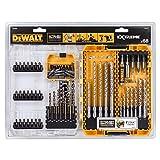 DEWALT DT70760-QZ - Estuche de 68 brocas de hormigón y metal y puntas de atornillado para taladro y...