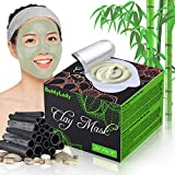 20 Pack Clay Peel Off Face Masks, Clay Mud Mask Skin Care Facial Mask Sheet Mask with Hydrating,...