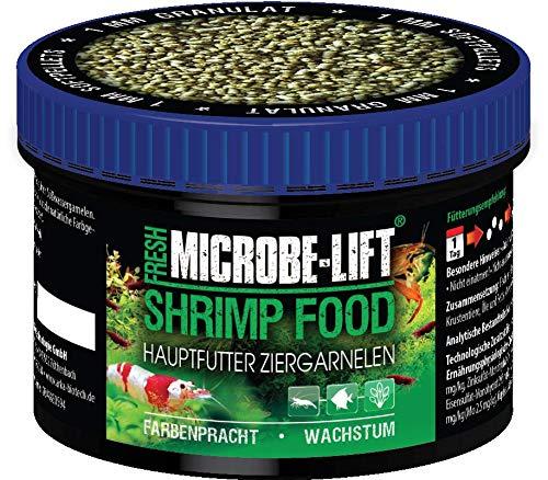 MICROBE-LIFT Shrimp Food - Granulatfutter, Alleinfutter für Garnelen in jedem Süßwasseraquarium, 150ml / 50g