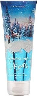 Bath & Body Works Sparkling Nights Ultra Shea Body Cream, 8 Ounce