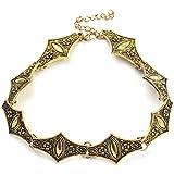 QAQV Accesorios De Collar De Joyería Collar De Conexión Trenzada Joyería Exquisito Collar Masculino Y Femenino-Xl1582