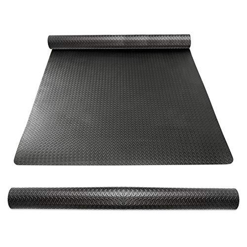 CCLIFE Bodenschutzmatte rutschfeste Schutzmatte für Fitnessgeräte Fitness Fitnessraum 60x60 30x30 Unterlegmatten Bodenmatte Trainingsmatte