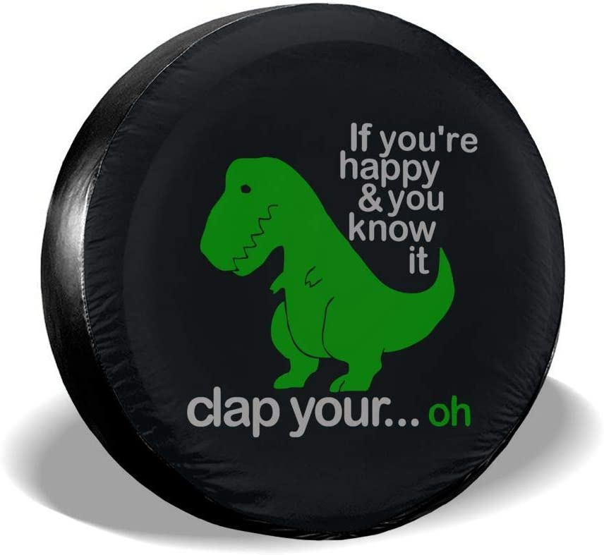 Funny Ranking TOP19 Manufacturer OFFicial shop Cartoon Dinosaur Spare Tire Cover Waterproof fo Dust-Proof