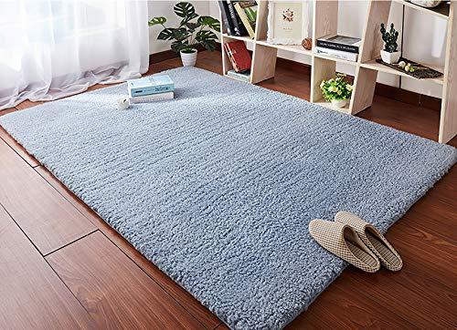 Alfombras De Habitacion Grande Azul alfombras de habitacion  Marca HETOOSHI