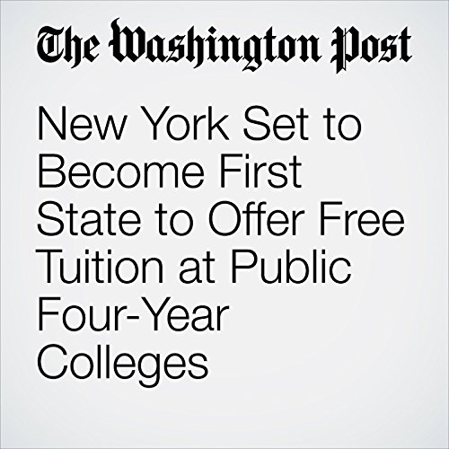 New York Set to Become First State to Offer Free Tuition at Public Four-Year Colleges copertina