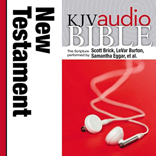 Pure Voice Audio Bible - King James Version, KJV: New Testament audiobook cover art