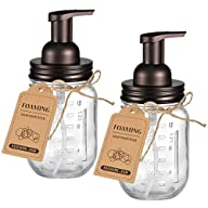 Foaming Mason Jar Reusable Soap Dispenser Empty